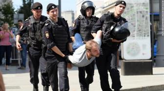 Nga cảnh báo Google về các cuộc biểu tình trước bầu cử