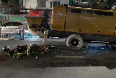 Xe máy tông khối sắt chình ình giữa đường, 2 người thiệt mạng