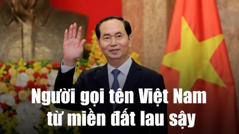 Người gọi tên Việt Nam từ miền đất lau sậy