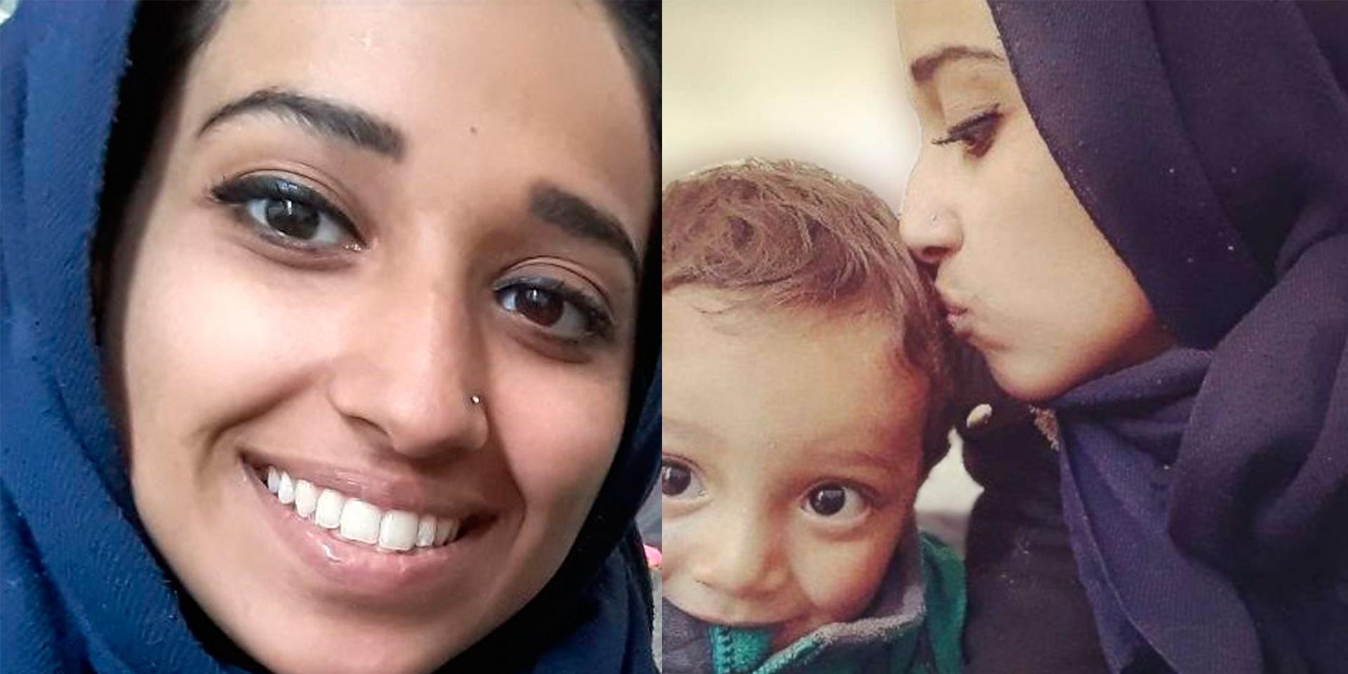 Hoda Muthana mong muốn quay về Mỹ cùng con trai 18 tháng nhưng không thể.