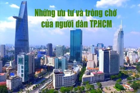 Những ưu tư và trông chờ của người dân TP.HCM
