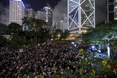Hàng ngàn sinh viên Hồng Kông kêu gọi quốc tế giúp đỡ trong cuộc chiến vì dân chủ