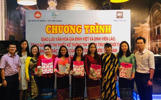 Gioi thieu net van hoa Viet cho sinh vien Lao
