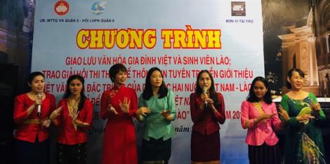Giới thiệu nét văn hóa Việt cho sinh viên Lào