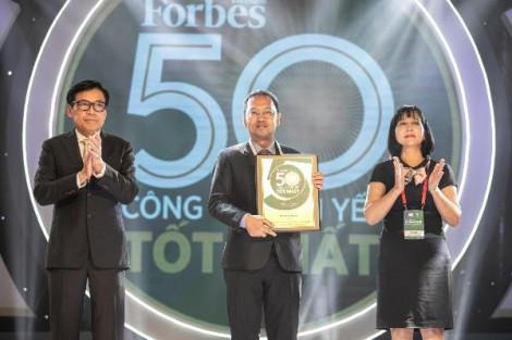 Tập đoàn Nam Long lần thứ 4 có mặt trong bảng xếp hạng 50 công ty niêm yết tốt nhất