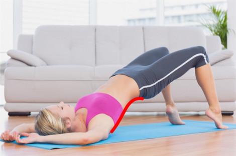 Bài tập 10 phút giúp hạn chế chứng cong vẹo cột sống