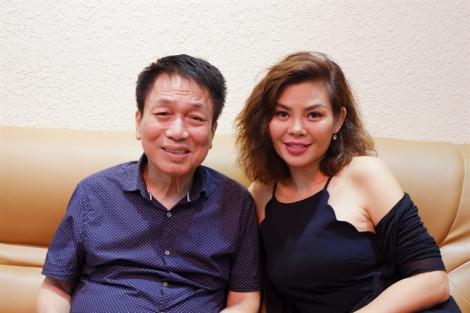 Ngọc Anh thăm nhạc sĩ Phú Quang, xoá nghi ngờ mâu thuẫn vì 'hét' cát-sê khủng