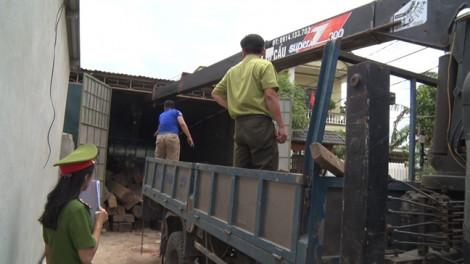 Phát hiện đối tượng tàng trữ hơn 60 mét khối gỗ lậu