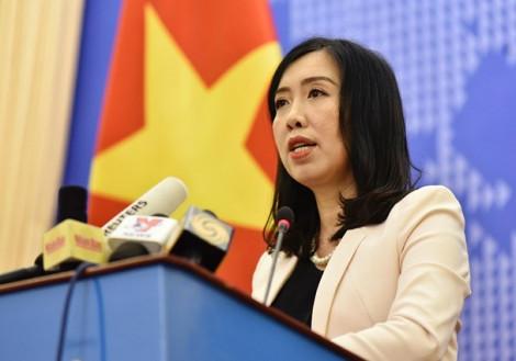 Việt Nam luôn sẵn sàng giải quyết các bất đồng bằng mọi biện pháp hòa bình phù hợp với luật pháp quốc tế