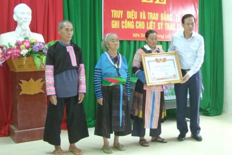 Trưởng công an xã hy sinh khi giúp dân chống lũ được công nhận liệt sĩ