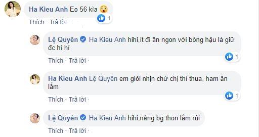 Le Quyen khoe vong 2 nuot na, tiet lo bi quyet giu eo thon