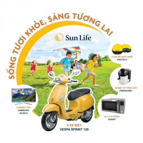 Sun Life tung chương trình khuyến mãi 'Sống tươi khỏe, Sáng tương lai' nhằm tri ân khách hàng