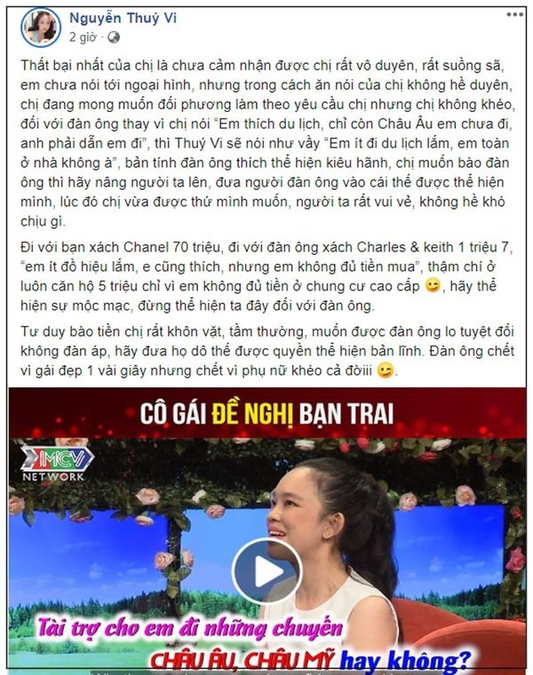 Song dua vao dan ong hay tu chu tai chinh?
