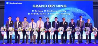 Ngân hàng Shinhan Việt Nam khai trương 4 chi nhánh mới tại Đà Nẵng, Hà Nội, Hải Phòng và Bình Dương