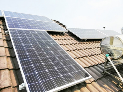 Lắp đặt điện mặt trời mái nhà, được hỗ trợ từ 6-9 triệu đồng