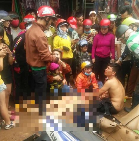Dân vây xe CSGT vì cho rằng đã truy đuổi xe máy chở người đi cấp cứu dẫn đến tai nạn