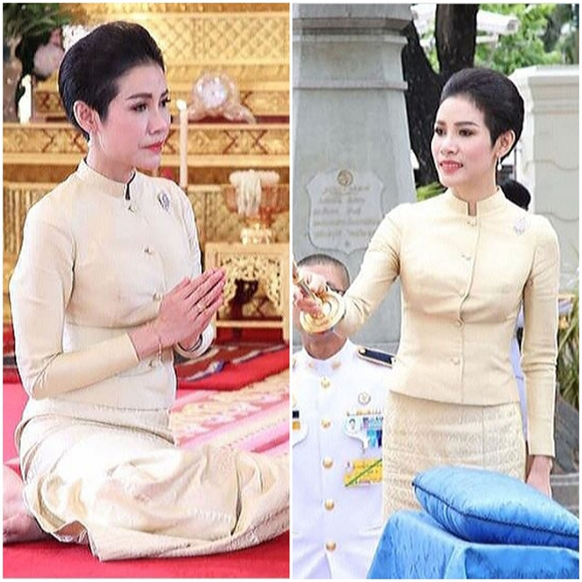 Nhan sac xinh dep cua Hoang quy phi Thai Lan
