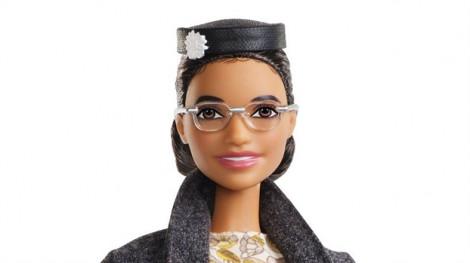 Búp bê Barbie mang khuôn mặt nhà hoạt động dân quyền