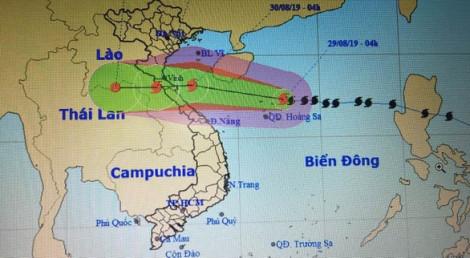 Từ đêm nay, sóng biển ngoài khơi Thanh Hóa - Quảng Bình cao từ 2-4m