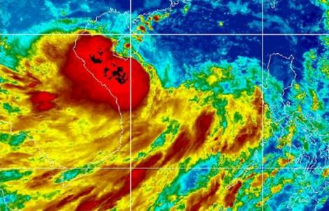 Mưa to, sóng lớn tại TP.HCM và các tỉnh Nam bộ do ảnh hưởng bão số 4