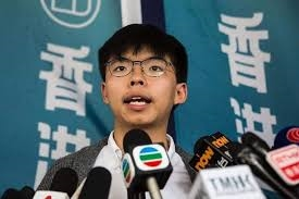 Hoang Chi Phong - Nha hoat dong xa hoi Hong Kong lai bi bat giu