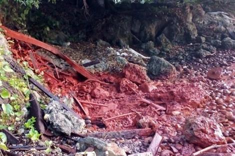 Nhà máy niken Trung Quốc đổ bùn độc hại ra biển ở Papua New Guinea