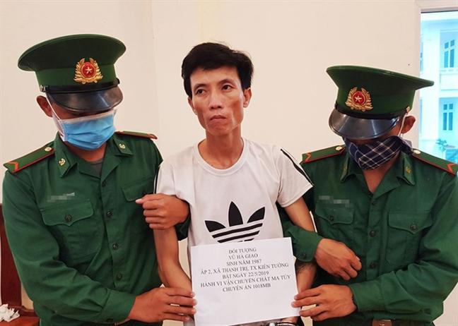 6 thang, bat giu hon 67.000 vien, 15kg ma tuy qua bien gioi Viet Nam - Campuchia