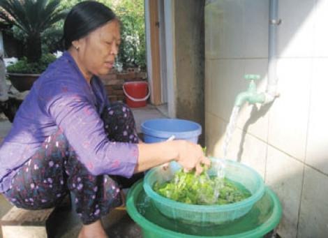 Sawaco đề nghị được tăng giá nước