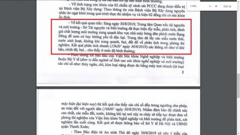 Quận Thanh Xuân vẫn giữ quan điểm về chỉ số an toàn sau vụ cháy Rạng Đông