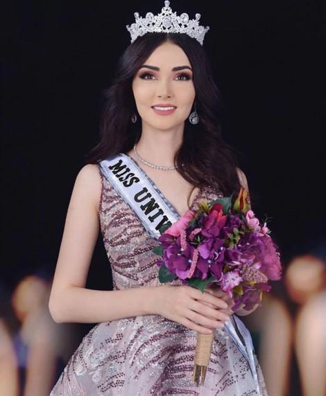 Nhan sắc tựa thiên thần của đại diện đầu tiên Iran gửi đến 'Hoa hậu Hoàn vũ'