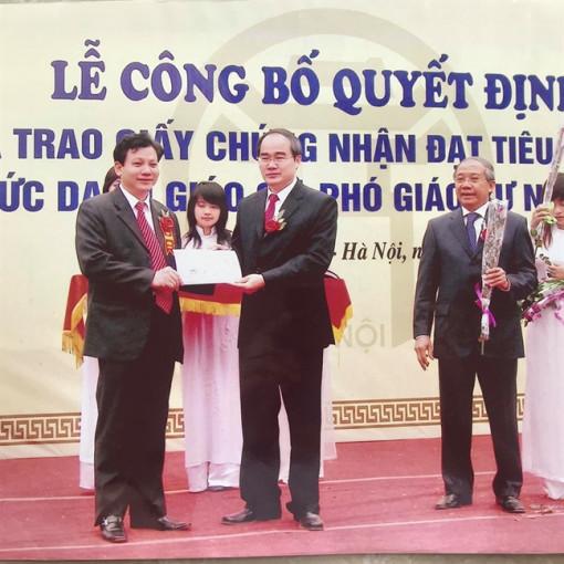 Khôi phục chức danh Phó giáo sư của ông Hoàng Xuân Quế sau minh oan 'đạo văn'
