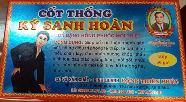 Phat hien co so bao che thuoc dong y tron tan duoc chua thap khop