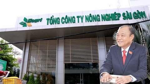 TP.HCM ky luat 6 can bo, lanh dao Tong Cong ty Nong nghiep Sai Gon