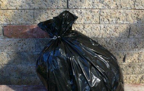 Túi rác sinh học của chị S.