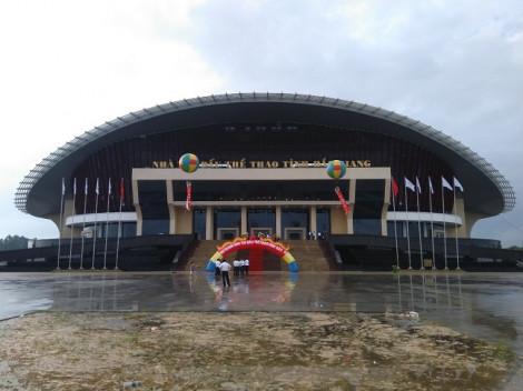 Nhà thi đấu thể thao Bắc Giang ứng dụng giải pháp chiếu sáng thông minh của Điện Quang