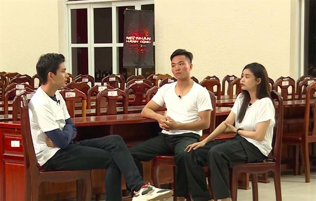 Truong Quynh Anh chat van Tim chuyen cham soc con trai