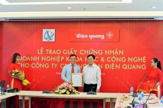 Điện Quang được cấp giấy chứng nhận Doanh nghiệp khoa học và công nghệ
