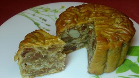 Cẩn thận khi mang bánh trung thu Trung Quốc nhân thịt heo vào Đài Loan