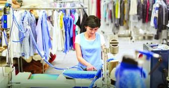 Đầu tư cửa hàng giặt ủi, chi phí thấp nhưng... dễ ôm lỗ