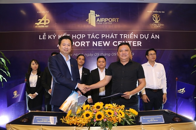 Du an Airport New Center chinh thuc ve tay Cuong Thinh Corp