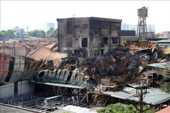 Hà Nội lại công bố môi trường khu vực cháy nhà máy Rạng Đông an toàn