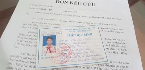 Bệnh viện Nhi đồng Đồng Nai hỗ trợ 320 triệu đồng cho bệnh nhi 13 tuổi tử vong