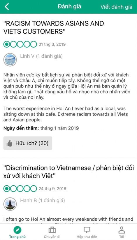 Hội An mời chủ quán cà phê không bán cho khách Việt giải trình
