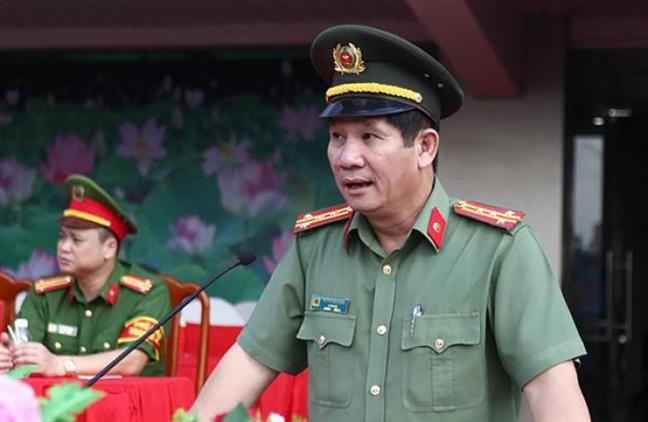 Cach chuc Giam doc Cong an Dong Nai cua dai ta Huynh Tien Manh