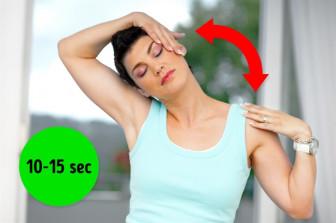11 bài tập giúp sửa vai tròn và chống gù lưng