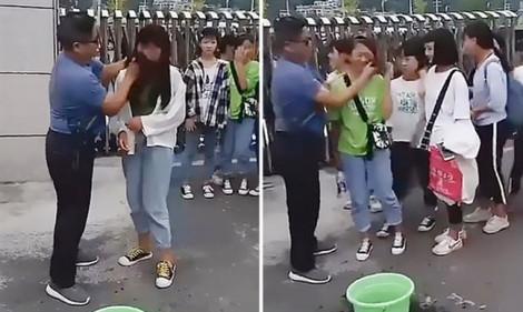 Cha mẹ lên tiếng sau clip thầy giáo lau mặt các nữ sinh trang điểm