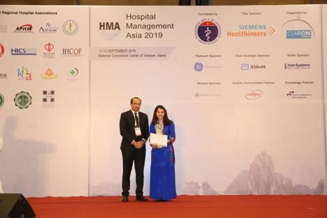 Bệnh viện Quốc tế Hạnh Phúc nhận 2 giải thưởng lớn tại Hội nghị quản lý bệnh viện châu Á thứ 18