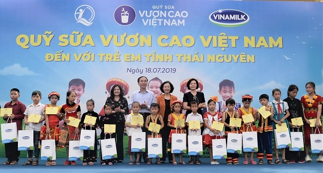 "Quy sua Vuon cao Viet Nam: No luc vi su menh ""de moi tre em deu duoc uong sua moi ngay"""