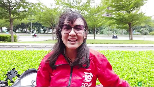 Ba Le Diep Kieu Trang nghi viec tai Go-Viet