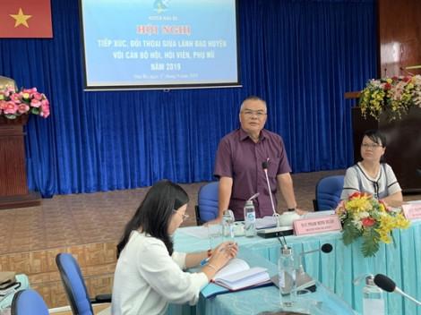 Phụ nữ huyện Nhà Bè gửi nhiều kiến nghị đến chính quyền